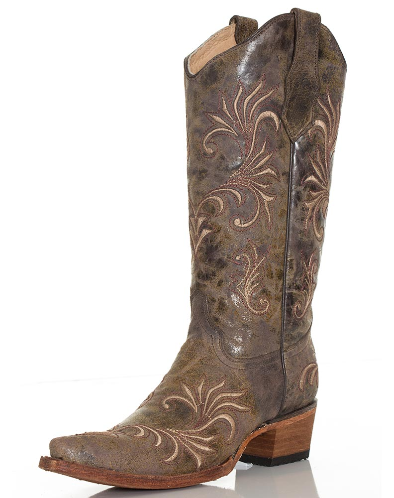 Awesome Shop Womenu0026#39;s Corral Vintage Canago Tabacco Cowgirl Boots