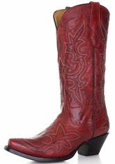 Corral Women's Stitched Boots - Desert Red