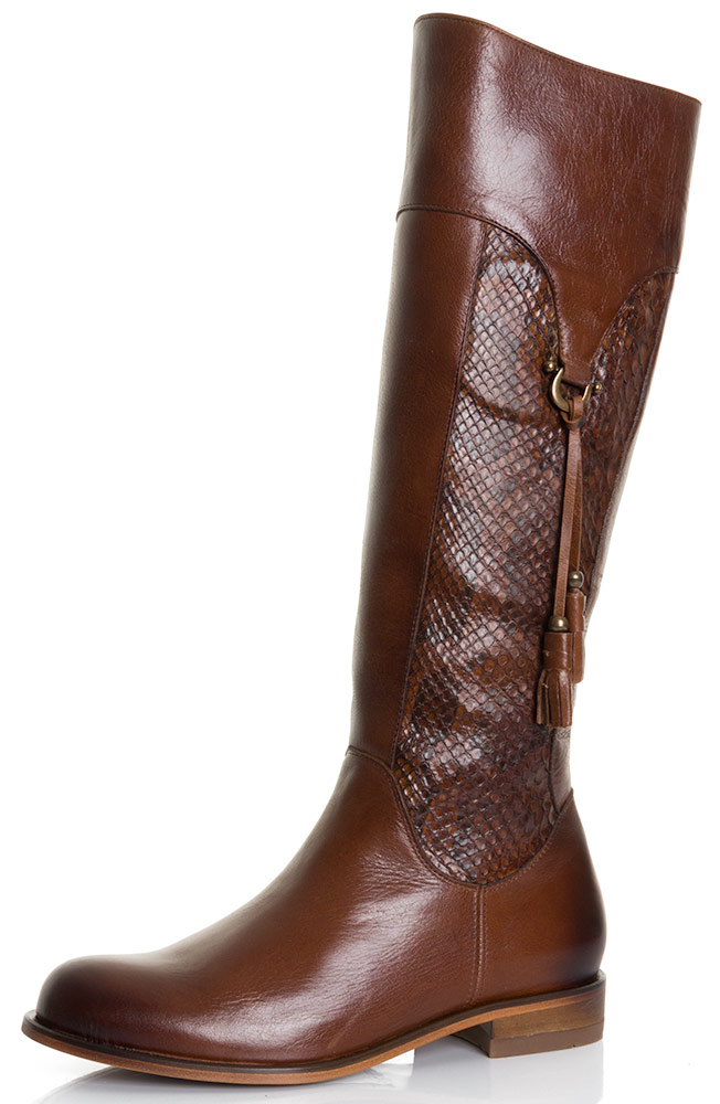 Corral Womens Equestrian Fashion Boots - Honey Python