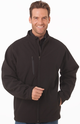 Cripple Creek Mens Neoprene Zip Front Jacket - Graphite