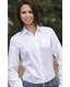Cruel Girl Women's Solid Western Button Down Shirt - White