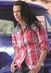 Cruel Girl Womens Long Sleeve Plaid Western Snap Shirt - Pink
