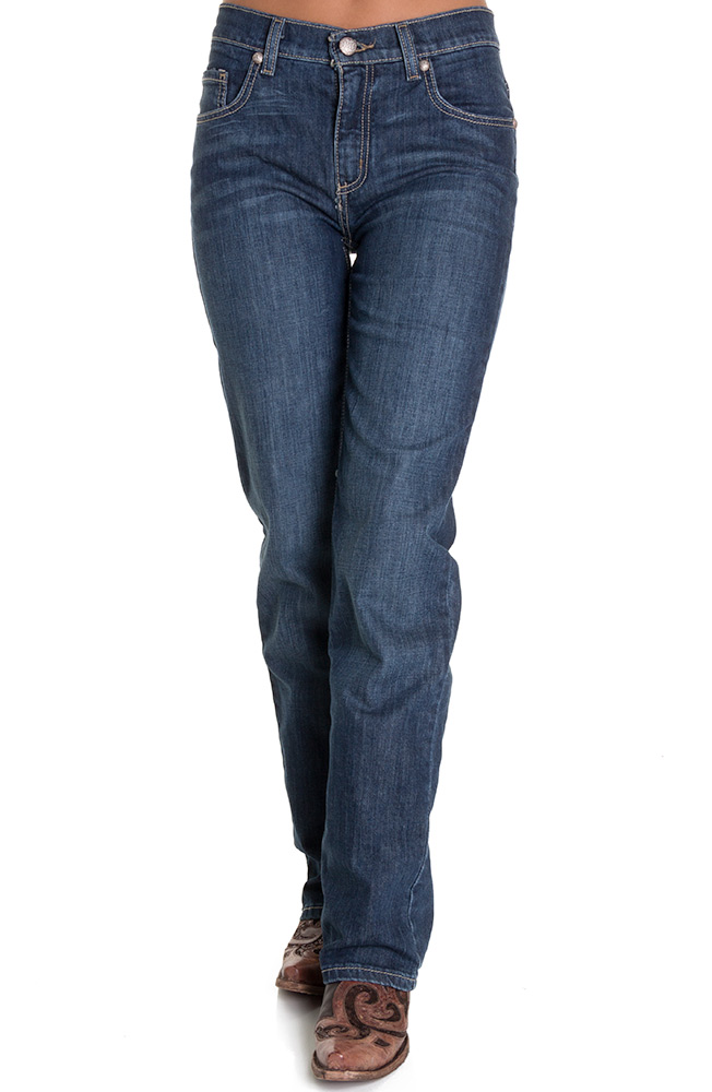 Cruel Girl Womens Slim Fit Rachel Jeans - Dark Stonewash (Closeout)