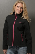 Cruel Womens Bonded Jacket - Black