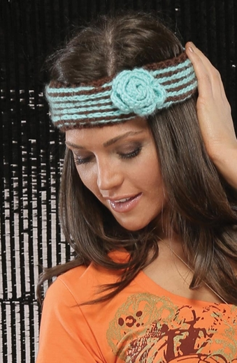 Cruel Womens Crocheted Headband (Closeout)