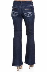 Cruel Womens Piper Slim Fit Boot Cut Jean - Indigo (Closeout)