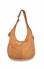 Cut N Paste Women's Talia Boho Sack Bag - Vintage Tan
