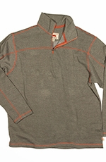Dakota Grizzly Mens Colton Zip Over Shirt - Moss