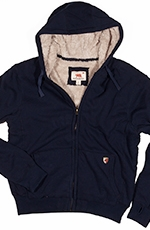 Dakota Grizzly Tacoma Mens Poly-Fleece Hoodie - Navy (Closeout)