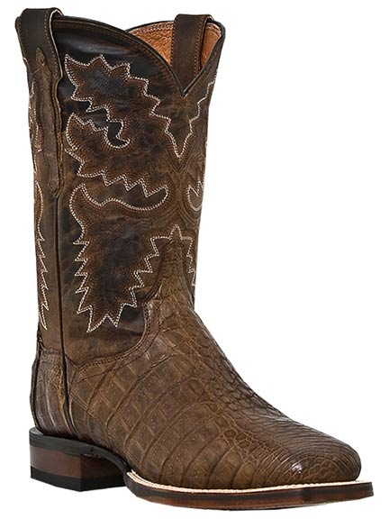 "Dan Post Men's Denver 11"" Caiman Boots - Bay Apache"