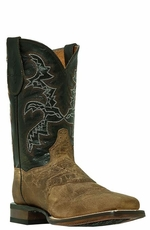 "Dan Post Men's Franklin 11"" Cowboy Boots - Sand/Black (Closeout)"