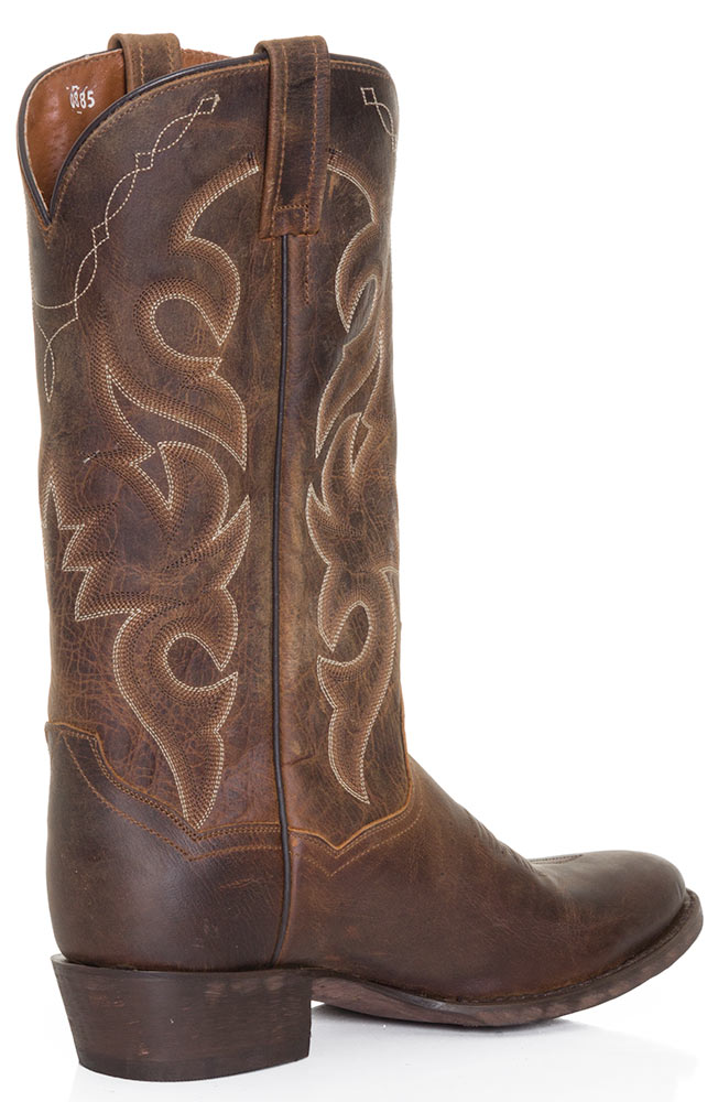 "Dan Post Mens Renegade 13"" Cowboy Boots - Bay Apache"