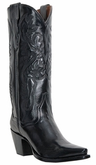 "Dan Post Women's Maria 13"" Cowboy Boots - Black"