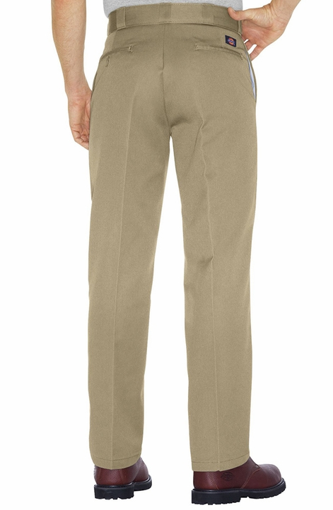 Dickies 874 Original Plain Front Twill Work Pants - Khaki, Navy or Black