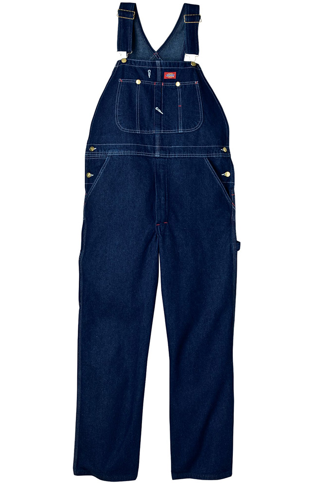 Dickies Denim Overall - Rinsed Blue (Closeout)