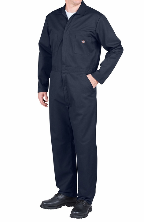 Dickies Men's Basic Coveralls - Dark Navy