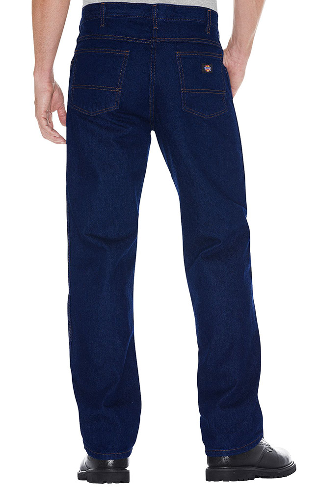 Dickies Regular Fit 5 Pocket Jeans - Indigo Blue