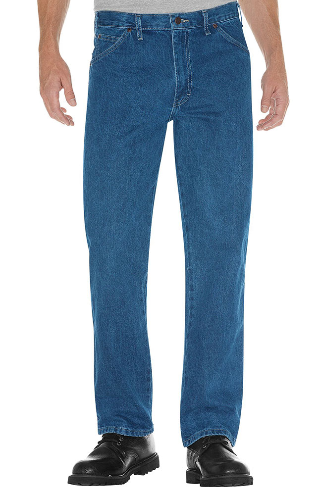 Dickies Regular Fit 5 Pocket Jeans - Stonewashed (Closeout)