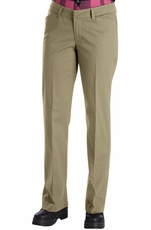 Dickies Women's Relaxed Straight Stretch Twill Pants (2 Colors) (Closeout)