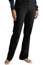 Dickies Women's Slim Boot Cut Stretch Twill Pants (Closeout)