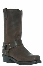 "Dingo Men's 11"" Dean Harness Boots - Gaucho Nutty Mule (Closeout)"