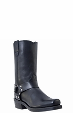 "Dingo Men's Dean 11"" Harness Boots - Black"
