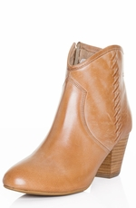 "Dingo Womens 5"" Bowery Cowboy Boots - Camel (Closeout)"