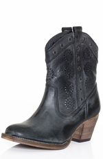 "Dingo Womens 7"" Roni Cowboy Boots - Grey"