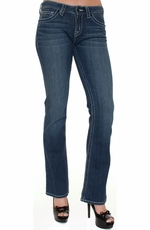 District 9 Women's Slick Boot Cut Jeans - Illinois (Closeout)