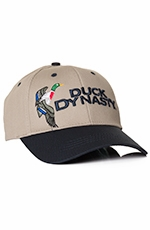 "Duck Dynasty Mens ""Duck"" Logo Cap - Khaki"