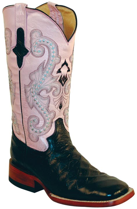 Luxury  Women39s Circle G By Corral BrownBeige Side Cross Square Toe Boot