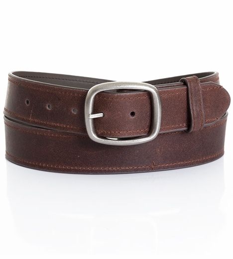 Five Star Men's Basic Leather Belt - Brown