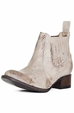 Freebird by Steven Womens Lasso Bootie - White Multi (Closeout)