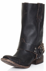 Freebird by Steven Womens Thompson Cowboy Boots - Black