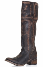 Freebird by Steven Womens Wrangler Boot - Black
