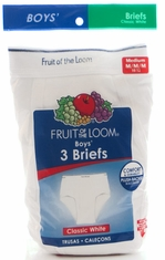 Fruit of the Loom Boy's 3Pk Briefs (Closeout)