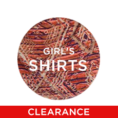 Girls' Western Shirts Clearance