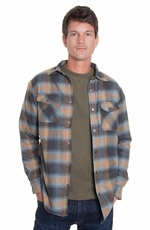 Grizzly Mens Archer Shirt Jacket - Glacier (Closeout)