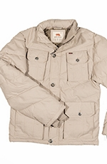Dakota Grizzly Mens Derek Sanded Twill Coat - Khaki