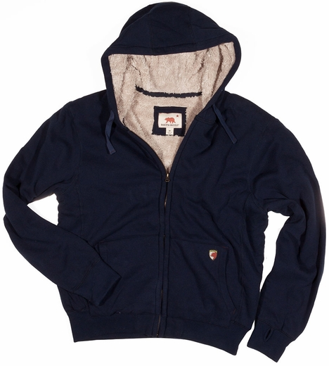 Dakota Grizzly Tacoma Mens Poly-Fleece Hoodie - Navy