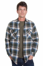 Grizzly Mens Mack Cabin Coat - Moss