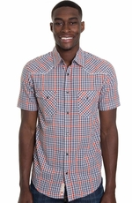 Grizzly Mens Tate Western Shirt - Picnic