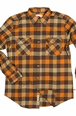 Dakota Grizzly Mens Woodsman Vintage Original Buffalo Western Shirt - Autumn