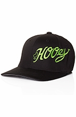 HOOey Youth Scoreline Flexfit Cap - Black/Green