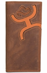 HOOey Mens Signature Rodeo Wallet - Brown