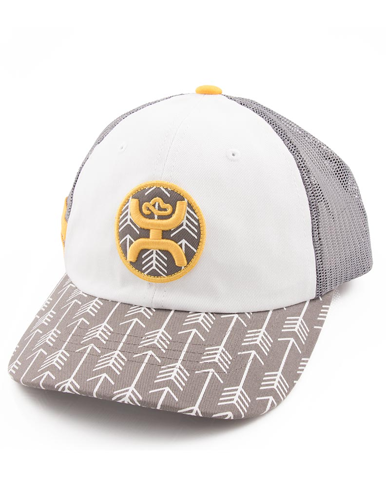 hooey s quot warrior quot cap grey white