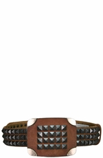 Iron Horse Men's Bandera Belt with Buckle - Brown