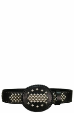 Iron Horse Men's Lobo Belt with Buckle - Black (Closeout)
