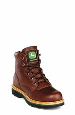 "John Deere Boots - Men's Tractor Series 6"" Lace-Up (Steel Toe) (Closeout)"