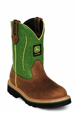 "John Deere Boots - Women's 9"" Wellington (Green)"
